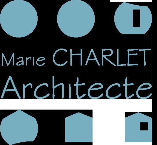 logo charlet bleu
